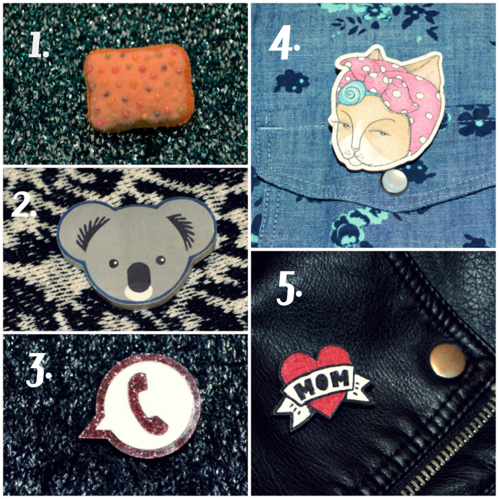 5 Indie Brooches