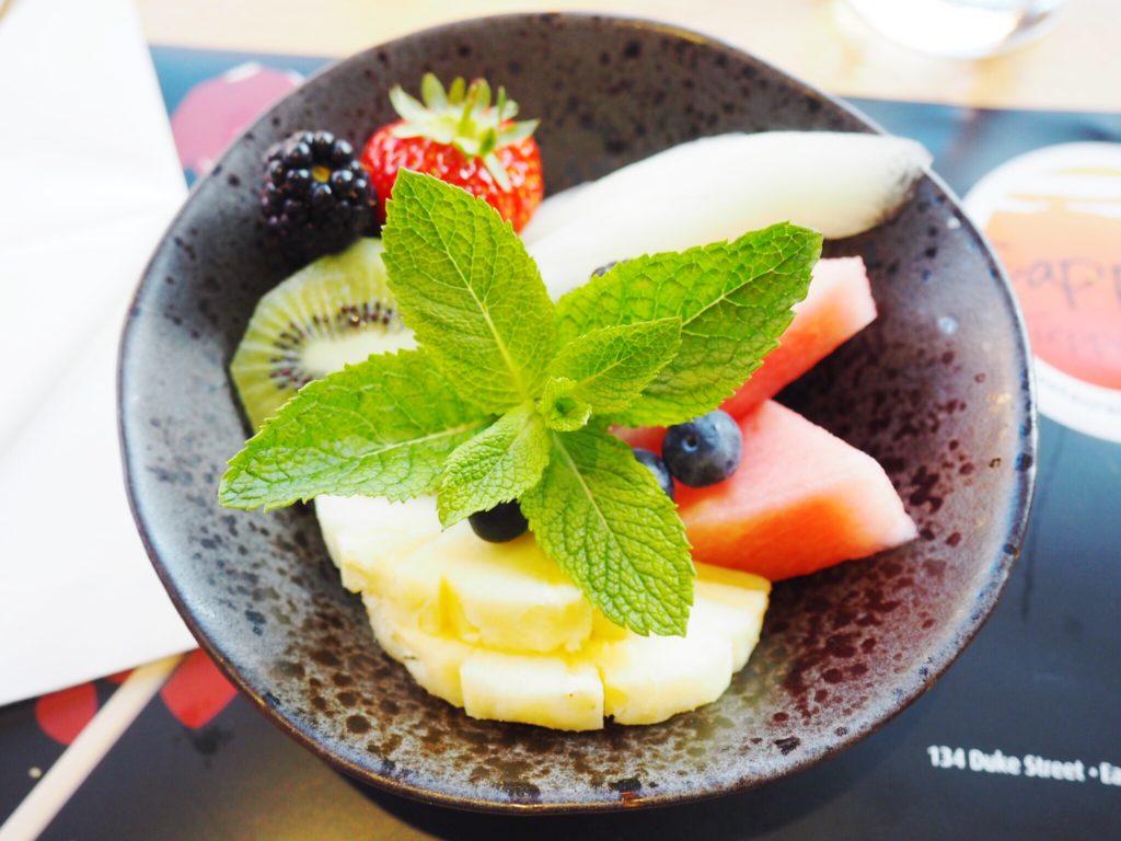 desserts at sapporo teppanyaki
