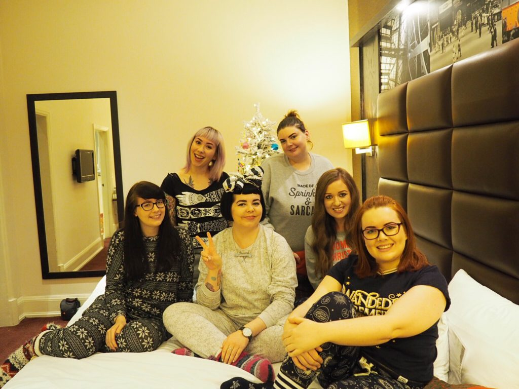The Return of the Blogger Sleepover