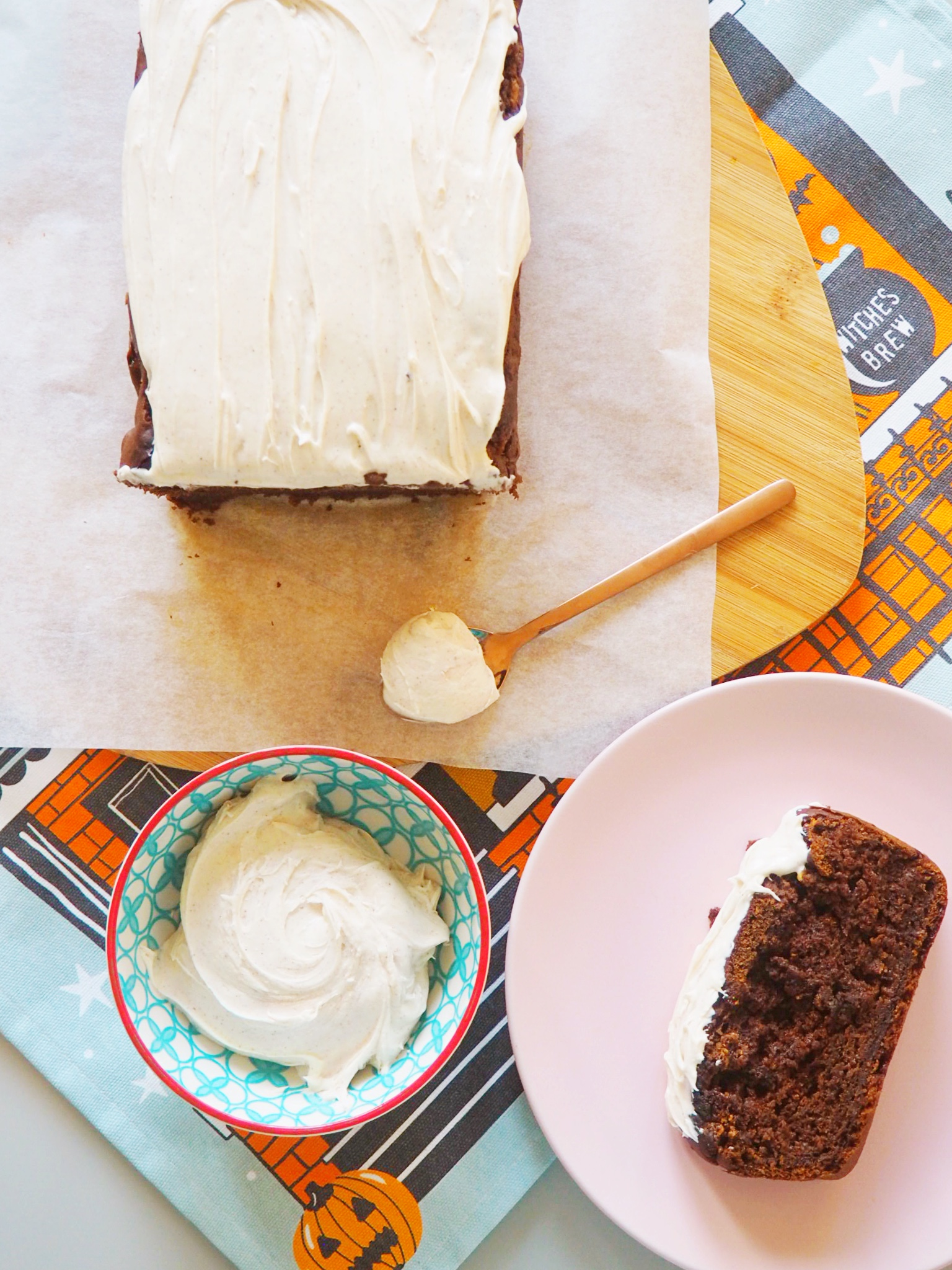 pumpkin spiced loaf cake